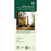 Blatt 15, Nördliches Ried - Naturschutzgebiet Kühkopf-Knoblochsaue: Wander- und Radwanderkarte 1:20.000. Mit Alsbach-Hähnlein, Biebesheim, Biblis, ... (Odenwald Freizeitkarten Maßstab 1:20.000)