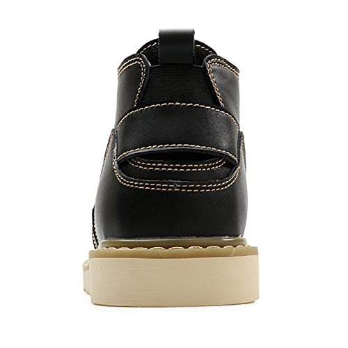 Miyoopark , Chaussures bateau pour homme Noir