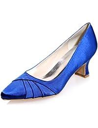 Sandalen L@YC Weibliche Hochzeit Schuhe Frühling Sommer Herbst Spitz Seide/Party Night & More verfügbar Farben Damen