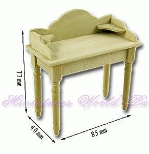 LA Mueble de casa de muñecas en Miniatura - Mesa