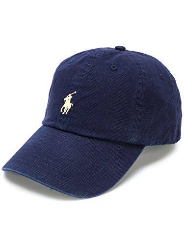 Polo Ralph Lauren Hut Klassische Herrenmütze Baseball Caps (Blu Navy)