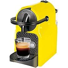 Magimix Inissia Independiente Totalmente automática Máquina de café en cápsulas 0.7L 1tazas Negro, Amarillo - Cafetera (Independiente, Máquina de café en cápsulas, Negro, Amarillo, Taza, Botones, 0,7 L)