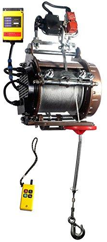 Industrie & Gerüst Hebezug Hebezeug elektrisch 230V 250kg/500kg Warrior mit Funkfernbedienung – nach EN 14492:2