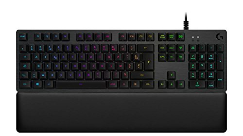 Logitech G513 Tastiera Gaming Meccanica Retroilluminata con Switch Tattile Romer-G, Carbon, AZERTY Layout Francese