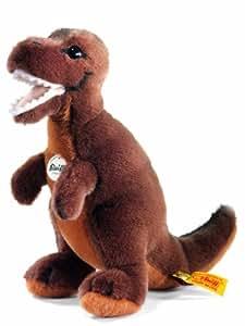Steiff 066818 - Tyrannosaurus Rex, dunkelbraun, 24 cm