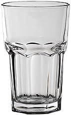 Lyra Glassware Mazda Hiball Drink Glass Set, 290ml, Set of 6, Transparent