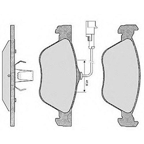 PE06150RB-4135 Kit pastiglie freno Anteriore Permafuse