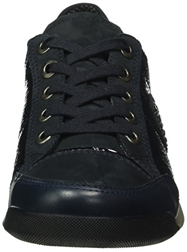 Ara 12-34453-21, Chaussures à Lacets Femme Blau (ozean,blau 21)