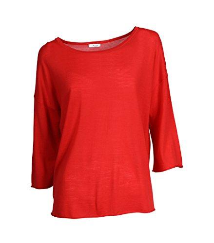 IHEART Damen Oversized-Shirt Kaethe in Rot 435 tomato