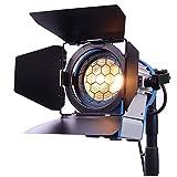 650W Película de Fresnel de tungsteno Foco Iluminación del estudio de vídeo...