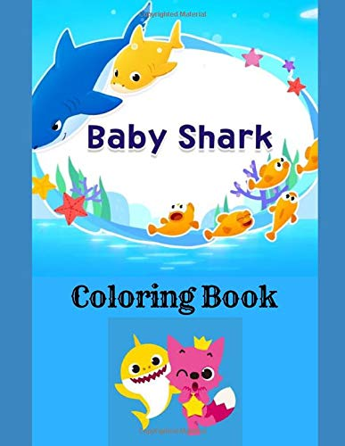 Baby Shark Coloring Book (Mouse Coloring Mickey Books)