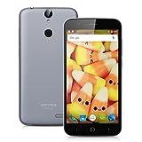 Vernee Thor 4G Smartphone 5.0'' Android 6.0 MT6753 Octa Core (RAM 3GB + ROM 16GB + Dual SIM + Fotocamera 13MP + HD 1280*720) WIFI GPS Bluetooth Grigio