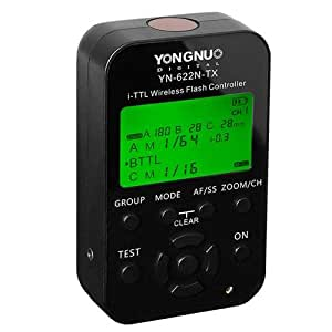 Yongnuo YN 622N TX i-TTL Wireless Remote Trigger for Nikon D70, D70s, D80, D90, D200, D300s, D600, D700, D800, D3000, D3100, D3200, D5000, D5100, D5200, D5300, D7000, D7100Cameras