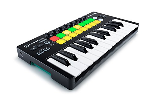 Novation AMS-LAUNCHKEY-MINI-MK2 25-Key USB MIDI Controller
