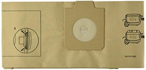 Nilfisk 1407015040 Staubsaugerbeutel Gd930/Uz930, 10 Stück, Papier -
