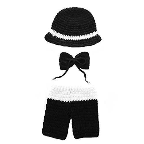 Hose, Y56 New Universal Baby Baby Neugeborene Mädchen Jungen Knit Crochet Swaddle Baby Outfit Fotografie Prop Schlafsack 0–6 Monate (Swaddle Outfit)