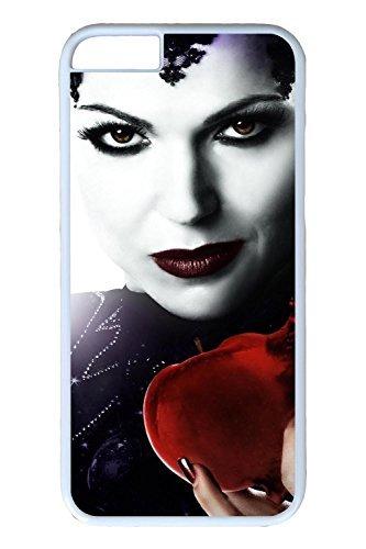 iPhone 6Plus Coque, 6Plus Coque–Coupe Fine Coque rigide pour iPhone 6Plus blanc Evil Queen once upon a time antidérapant coque rigide Bumper pour iPhone 6Plus 14cm, coques iphone