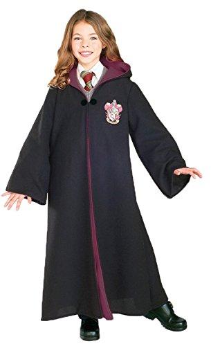 Hermine Kostüm Zubehör - KULTFAKTOR GmbH Harry Potter Gryffindor Kinderkostüm Schuluniform schwarz 128/140 (8-10 Jahre)