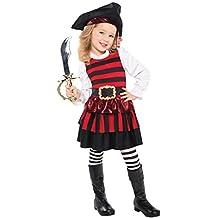 Christy's Kleinkind Mädchen Kleiner Mädel Piraten Kostüm