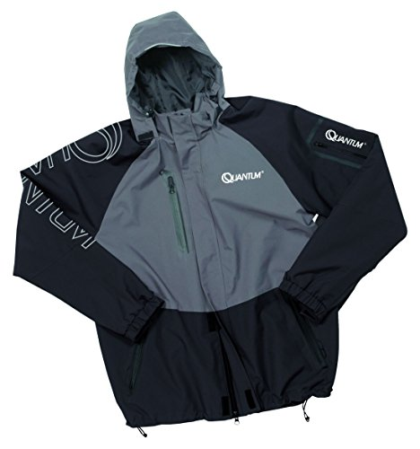Quantum Erwachsene Outdoor Jacke, Schwarz/Grau, L, 8902002