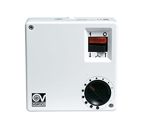 Vortice SCRR5- Ventilador para caja de ordenador Color blanco, Giratorio, 220 - 240V, 100W, 580g