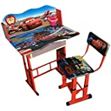 Kids Wooden Study Table In Car Cartoon Printed /New Year Gift For Kids Table Nice Quality By Kris Toy