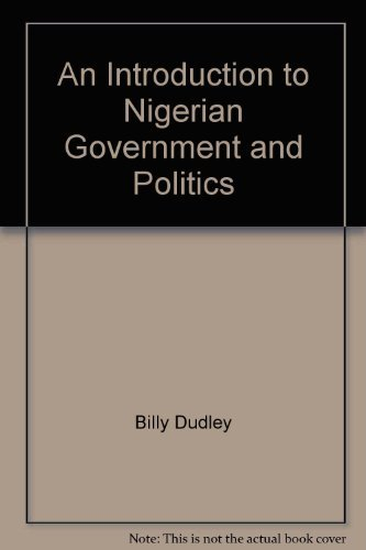 An Introduction to Nigerian Government and Politics