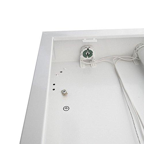 LED Rasteranbauleuchte, 1200mm, 2x18W, 4000K Neutralweiß, 2x1700lm, zu 90% für Büroanwendungen empfohlen! Büroleuchte, Deckenleuchte, Rasterleuchte, Bürolampe, Deckenlampe,