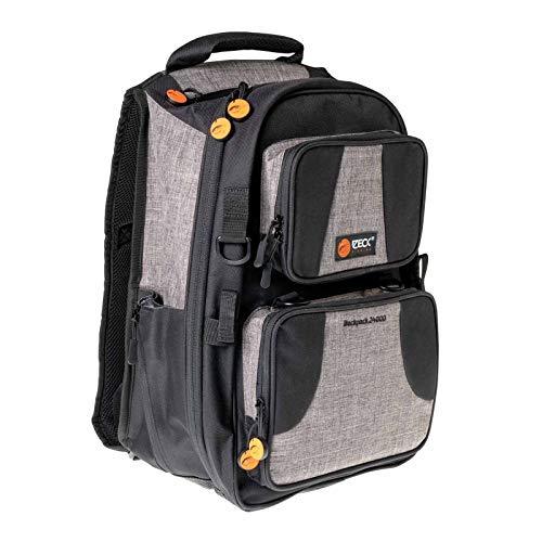 Zeck Backpack 24000 + Tackle Box WP S - Angelrucksack für Spinnangler, Rucksack für Angler, Tackletasche für Kunstköder & Zubehör