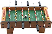 Lixada Mini Football Table Board Machine Game Home Match Gift Toy For Children Adult Tabletop Soccer
