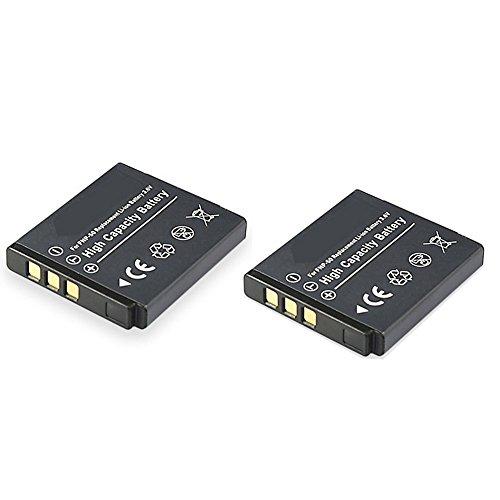 cellePhone Akku Li-Ion kompatibel zu Fuji NP-50/Pentax D-LI68/Kodak Klic-7004-2er Set