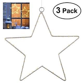 3-Stck-Weihnachtsstern-Beleuchtung-YUNLIGHTS-Fenster-Stern-Licht-45-LED-Lichterkette-Auen-Wasserdicht-Batterie-Angetrieben-mit-Timer-fr-Zuhause-Neujahr-Hochzeit-Urlaub-Party-Warmes-Wei