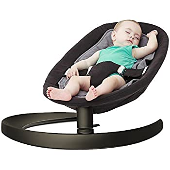 0da38fed27c Baby Rocker, KAKIBLIN Baby Bouncer Infant Comfort Swing Chair Soft Toddler  Cradle Seat, Quick Assembly, Ages 0-5