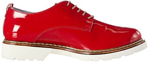 Rohde Bankgog, Chaussures à lacets femme Rouge - Red (kiss 41)