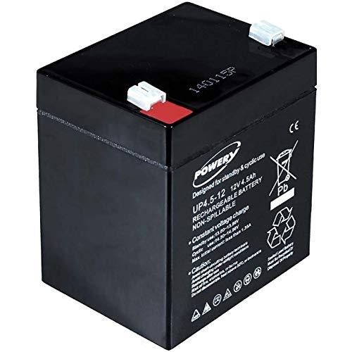 Powery Batería de GEL 12V 4