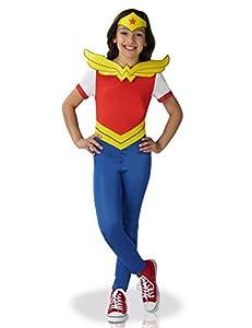 Rubies-Disfraz clásico Wonder Woman Superhero Girls