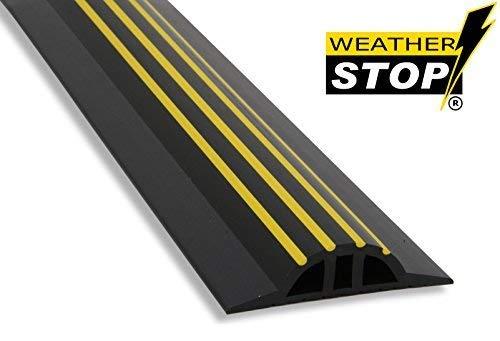 Weather Stop WS009-221 7,3 Zoll x 30 mm Hoch Garagentordichtung Kit schwarz