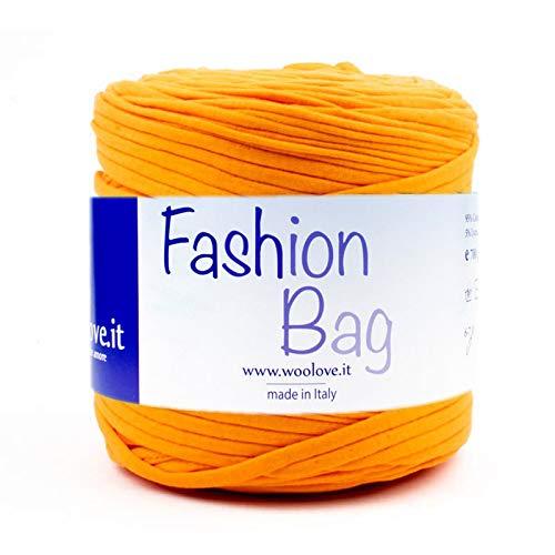 woolove Gehäkeltes Baumwollband, ideal zum Gestalten von Körben, Teppichen, Kissen, Schmuckstücken und Taschen. Viel mehr! (Teppich-korb)
