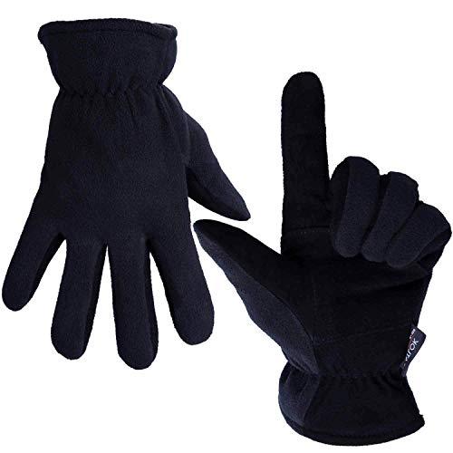 OZERO Winter Handschuhe Herren Handschuhe Damen Handschuhe Arbeit Handschuhe Motorrad Handschuh Winddichte Handschuhe