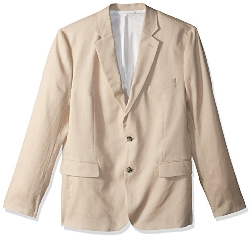 J.Lindeberg Herren Stretch Linen Blazer Anzugjacke, Business-Stil, Oxford Tan, 54 -