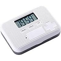 WANGXN SIX Grids Packed Small Pill Box Intelligent Timing Alarm Alarm Reminder Mini Portable Pills Boxen preisvergleich bei billige-tabletten.eu