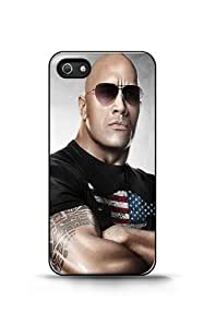 Coque iPhone 4/4s - Dwayne The Rock Johnson telephone Cas coquille pour iPhone 4 / 4s
