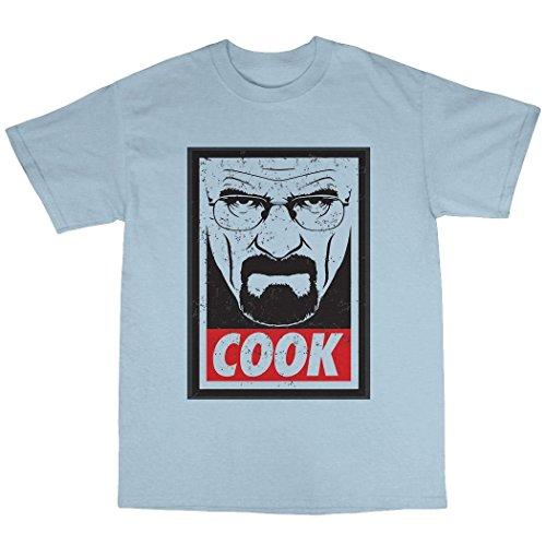 Walter White Cook T-Shirt Uomo Azzurro