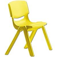 Preisvergleich für Kinderstuhl Flexi, 35 cm hoch (gelb)