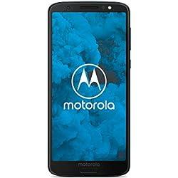 "Motorola MOTO G6 32Go Bleu Indigo (32Gb - Ecran 5.7"" Full HD format 18/9 ) (Import Allemagne)"