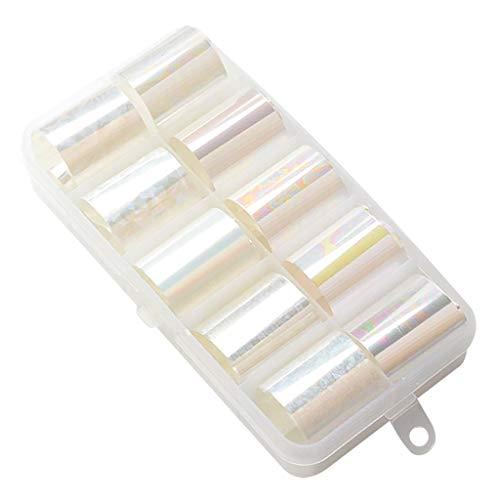 Cuteelf Eine Nagelaufkleber-Schablone, Nagelform-Vinylaufkleber-Set, Verschiedene Selbstklebende Nagelapplikationen, gutes Nagelwerkzeug