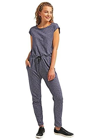 Jumpsuit für Damen Lang - Elegant in Blau - One-Piece Overall Einteiler Hosenanzug von - THE STYLE ROOM - Sommer-Jumpsuit in Größe