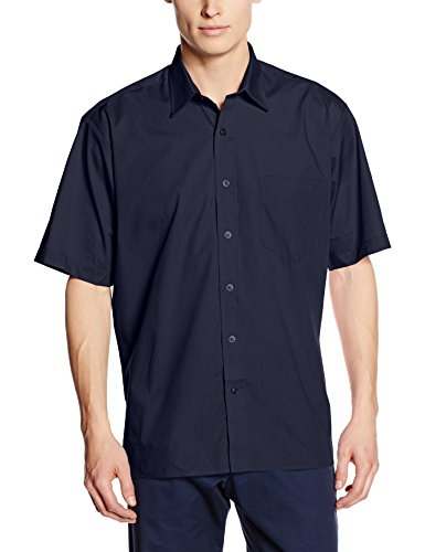 premier-workwear-mens-poplin-regular-fit-short-sleeve-formal-shirt-blue-navy-xxxx-large-manufacturer