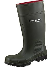 Dunlop 0506 Gummistiefel Purofort S5 Oliv