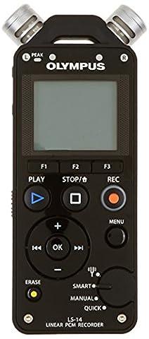 Olympus LS-14 4GB Linear PCM Recorder - Black